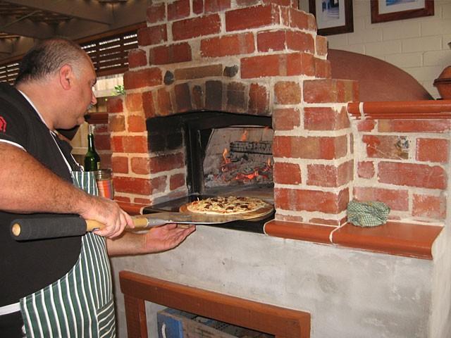 Forni per pizza a legna usati